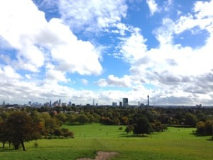 View of London from Primrose Hill